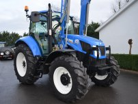 Трактори - New Holland T5.105 с челен товарач