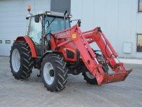Трактори - Massey Ferguson 4255 с челен товарач